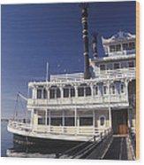 Newport Harbor Nautical Museum - 1 Wood Print