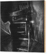 Newton's Corner Wood Print