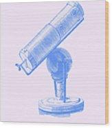 Newtons Little Reflector Wood Print