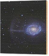 Ngc 4651, The Umbrella Galaxy Wood Print
