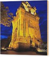 Nhan Tower.  Wood Print