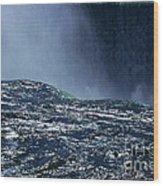 Niagara Wood Print by Barry Shaffer
