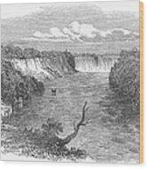 Niagara Falls, 1849 Wood Print
