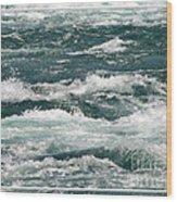 Niagara River Rapids 2 Wood Print