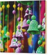 Nicaraguan Bells Wood Print by William Shevchuk