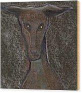 Nice Doggie Wood Print