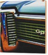 Nice Gp Wood Print