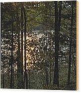 Nichols Lake Wood Print