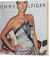 Nicky Hilton At Arrivals For The 18th Wood Print by Everett