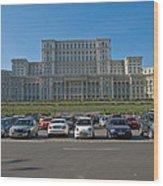 Nicolae Chaushesku Palace Wood Print