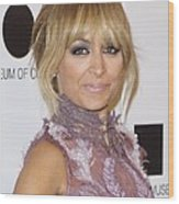Nicole Richie At Arrivals For 2011 Moca Wood Print by Everett
