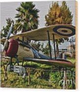 Nieuport 28 Wood Print