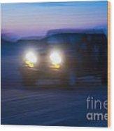 Night Rider Wood Print by John Greim