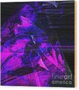 Night Rider . Square . A120423.936.693 Wood Print