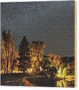 Night Sky, Australia Wood Print by Alex Cherney, Terrastro.com