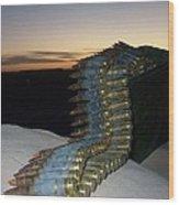 Night Watch In Afghanistan Wood Print