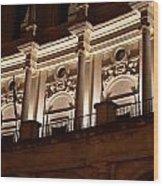 Nighttime Palace Wood Print