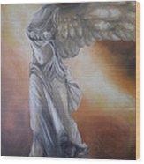 Nike Wood Print by GLORY-AN Art Gallery