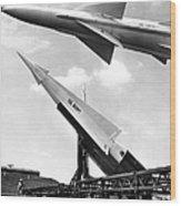 Nike Missile, C1959 Wood Print by Granger