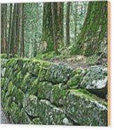 Nikko Moss Wood Print