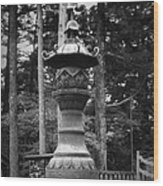 Nikko Sculpture Wood Print