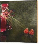 Nina Wood Print by Svetlana Sewell