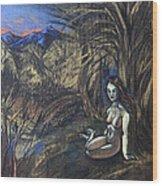 Ninfa Wood Print