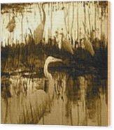 Ninigret Pond Wood Print