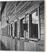 Nisqually Wildlife Refuge P18 The Barn II Wood Print