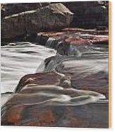 Noble Falls Wood Print