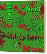 Noel Wood Print