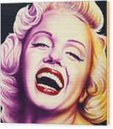 Norma Jean Wood Print by Bruce Carter