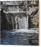 Normandale Falls Wood Print