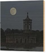 Normanton Church Moonlight Wood Print