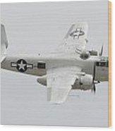 North American B-25j Mitchell N9856c Pacific Princess May 14 2011 Wood Print