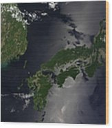 North And South Korea, And The Japanese Wood Print