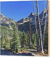 North Cascades Landscape Wood Print by Pierre Leclerc Photography