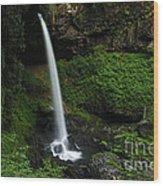 North Falls Oregon Wood Print