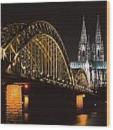 North Rhine, Westphalia, Dom And Wood Print