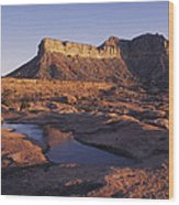 North Rim Toroweap,grand Canyon,arizona Wood Print