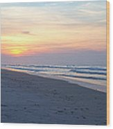 North Topsail Beach Serenity  Wood Print
