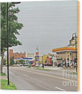 North Winooski Ave. Wood Print