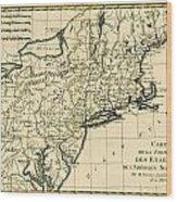 Northeast Coast Of America Wood Print