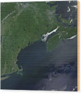 Northeast United States And Canada Wood Print