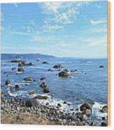 Northern California Coast3 Wood Print