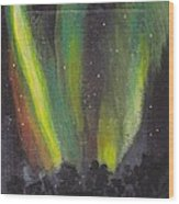 Northern Lights 3 Wood Print