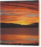 Northshore Sunrise Tahoe 2 Wood Print