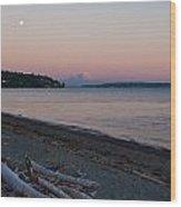 Northwest Evening Wood Print