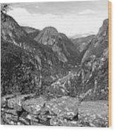 Norwegian Valley Wood Print