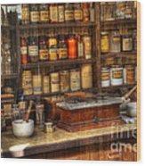 Nostalgia Pharmacy 2 Wood Print